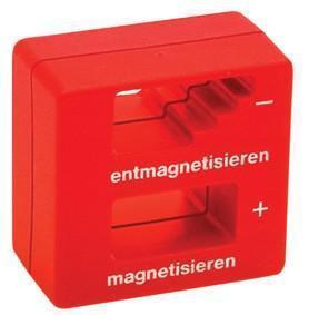 MAGNETISEER-/DEMAGNETISEERSPOEL Permanente Magnetiseerspoel voor het magnetiseren / demagnetiseren van  schroevedraaierklingen, pincetten en soort gelijk gereedschap gemaakt  ..