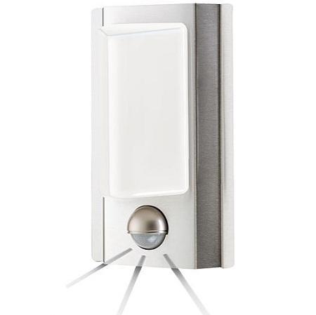 RVS Bewegingsmelder met verlichting Aansluiting op lichtnet (230V)