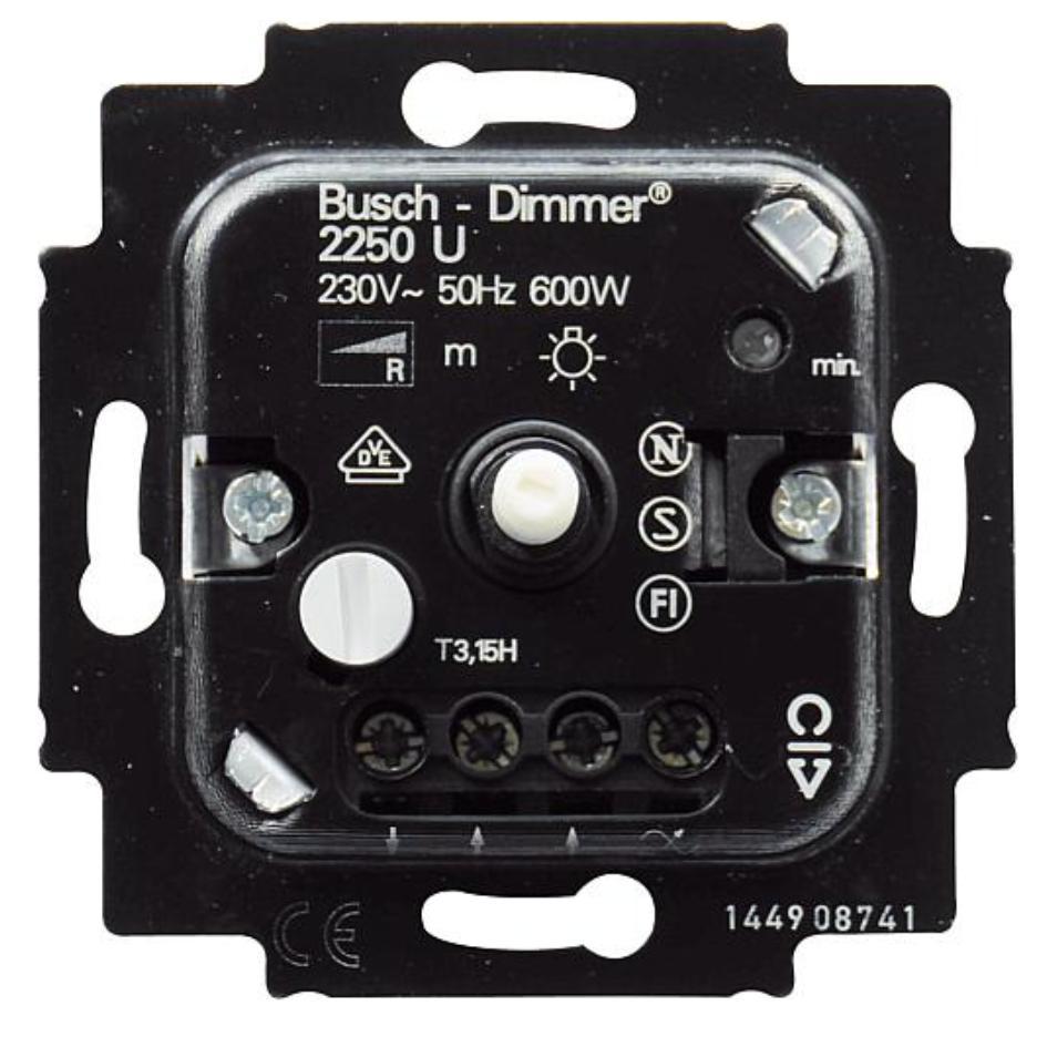 Image of 2250 U - Dimmer flush mounted 60...600VA 2250 U
