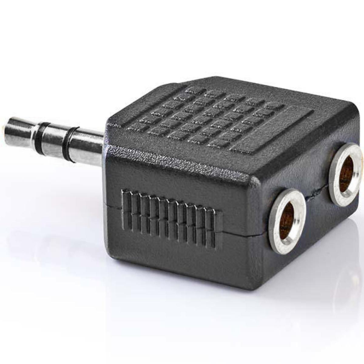 Jack Splitter 2x Jack 3.5mm Stereo Female