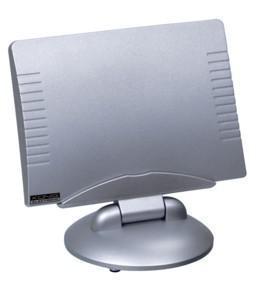 Actieve DVB-T Binnen- en Buitenantenne voor Radio/TV Kleur: zilver