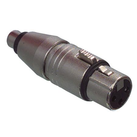 XLR - Tulp Verloop - Professioneel Connector 2: Tulp Female
