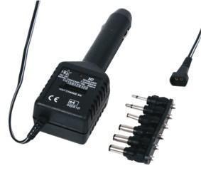 DC Adapter voor Sigarettenaansteker Uitgangsstroom: 800 mA