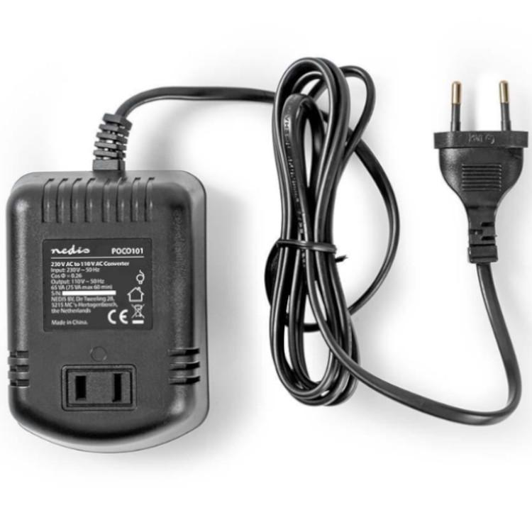 Omvormer 230V naar 110V - 75 Watt 50 Hertz
