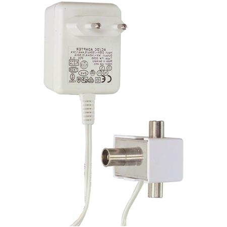 Antenne versterker - 2 uitgangen Versterking: 2 x 6 dB