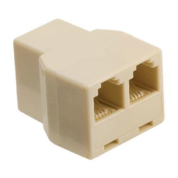 Telefoon Splitter Aansluiting 2: 2x RJ11 Female