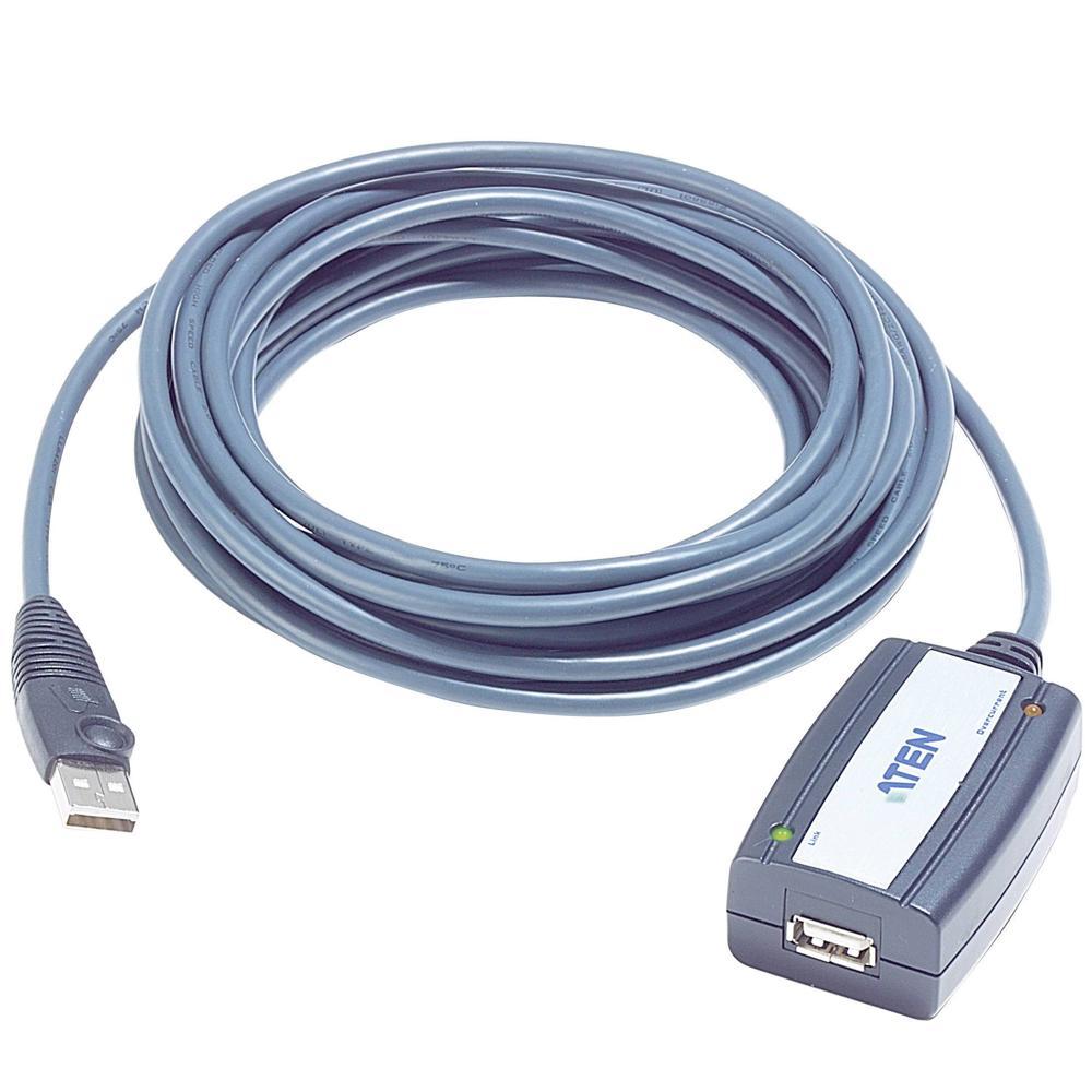 USB Verlengkabel met Versterker - ATEN 5 meter