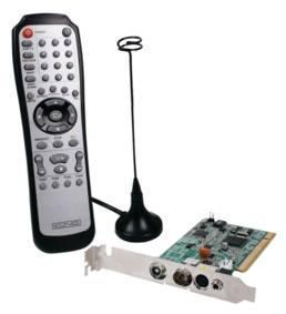 PCI Kaart � DVB-T Ontvanger Inclusief afstandsbediening