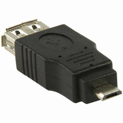 USB Micro Verloopstekker Aansluiting 2: USB A Female