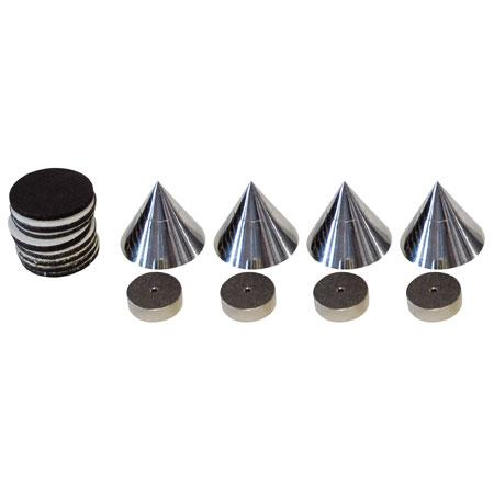 Spikes-set chrome Gewicht: 150g