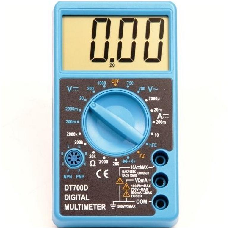 Multimeter Digitaal Transistor- en Diodetest