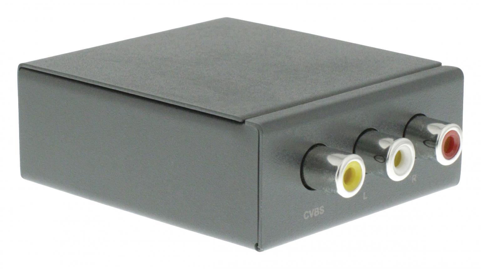 Component naar HDMI Omvormer Maximale Video Resolutie: 1080p
