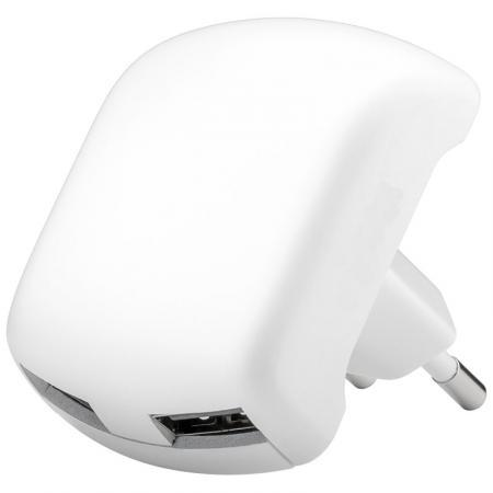 2x USB Lader 110/230V Kleur: Wit