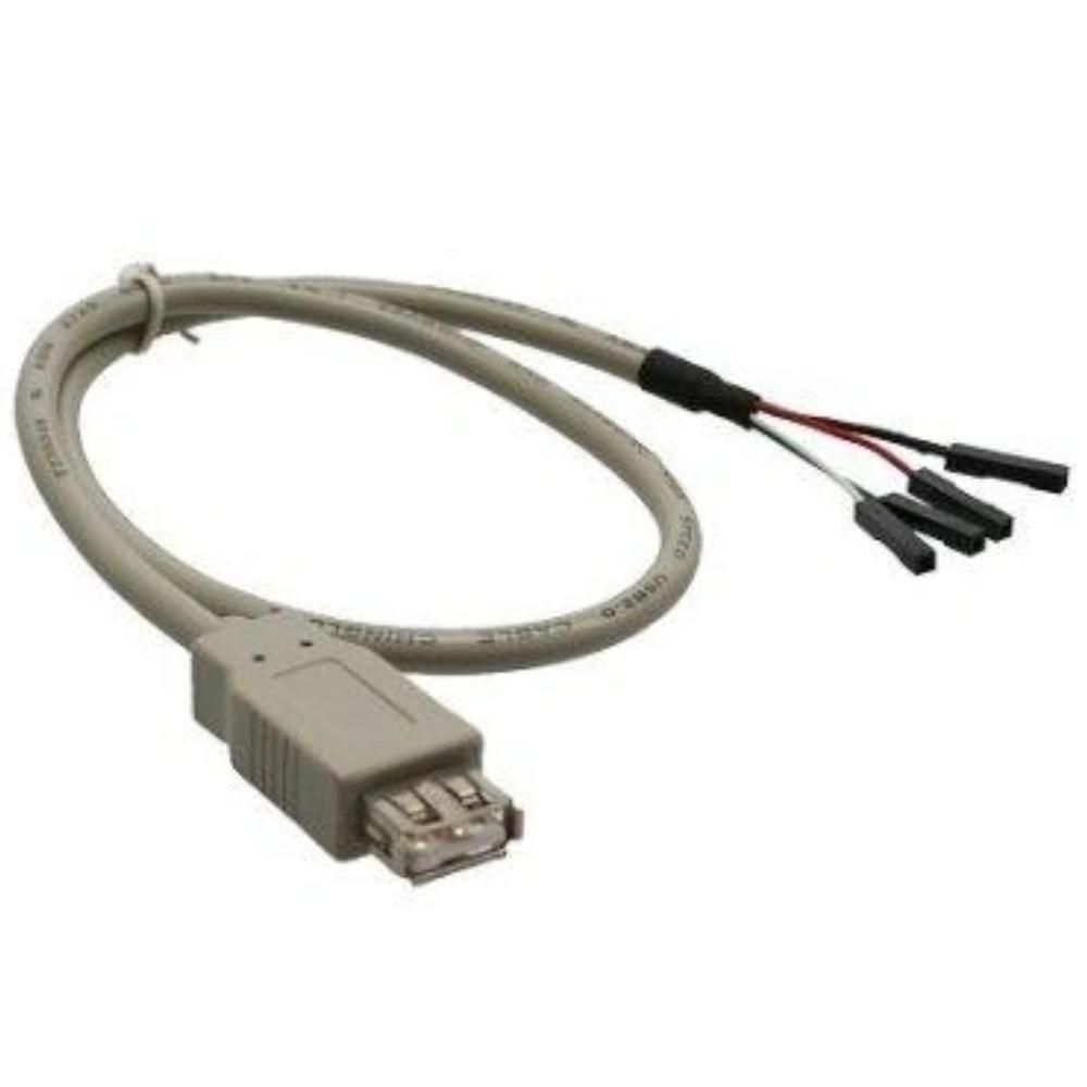 Kabel USB 2.0 Adapterkabel BU-A ->Pfost. Kabel USB 2.0 Adapterkabel BU-A ->Pfost