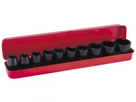 Image of SET MET 1/2 inch SLAGMOERSLEUTELBITS - 12 st. - NUAIR