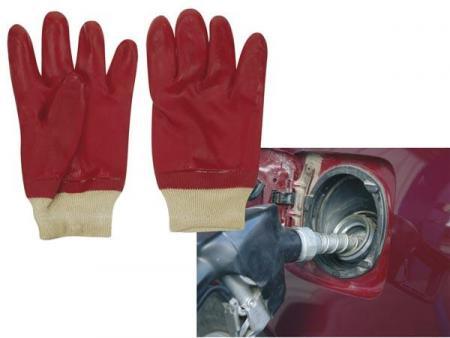 PVC GEDOMPELDE HANDSCHOENEN Pvc gedompelde handschoenen