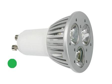 GU10 Lamp - Power LED Lichtkleur: Groen