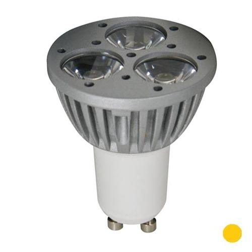 GU10 Lamp - Power LED Lichtkleur: Geel