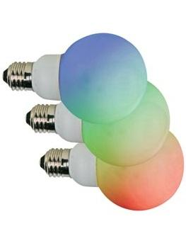 E27 Lamp - LED - 2W RGB LEDs: 42