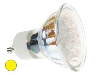 GU10 Lamp - LED Lichtkleur: Geel