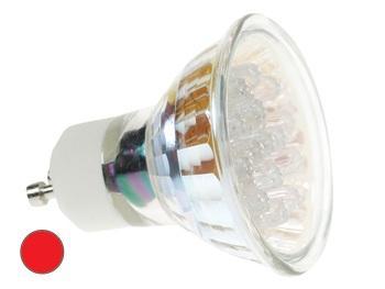 GU10 Lamp - LED Lichtkleur: Rood