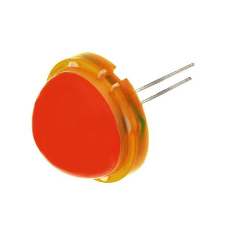 JUMBO LED 20mm ORANJE DIFFUUS Jumbo led 20mm oranje diffuus