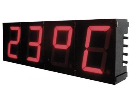 segment klok segment klok weergave 12 24 uur en temperatuur display digitaal afmetingen 230. Black Bedroom Furniture Sets. Home Design Ideas