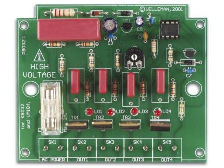 Image of 4-kanaals Looplicht