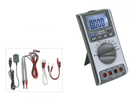 Multimeter Digitaal Multimeter met usb interface - 6 000 counts
