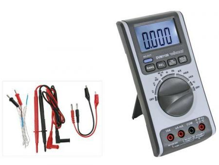 Multimeter Digitaal Multimeter met automatische + manuele bereikinstelling - 4000 counts