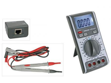 3-IN-1 MULTIMETER - KABEL- LIJNTESTER 3-in-1 multimeter - kabel- / lijntester