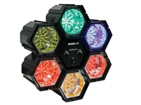 MODULAIR LICHTORGEL - 6 x 36 LEDS Modulair lichtorgel - 6 x 36 leds