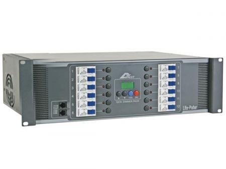 Image of 12-KANAALS MODULAIR DMX DIMMER PACK, 20A/KANAAL, SCHROEFCONNECTOREN, U