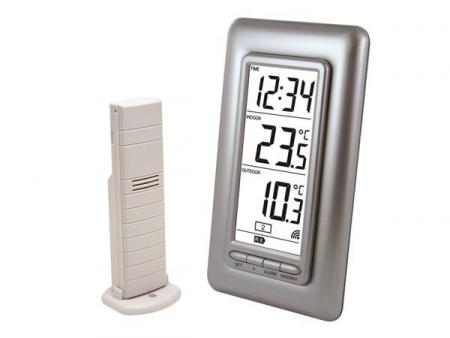 TEMPERATUURSTATION Binnen- en buitenthermometer
