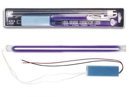 Image of BLACKLIGHT KOUDE-KATHODE FLUORESCENTIELAMP + VOEDING, 30cm - HQ-Power