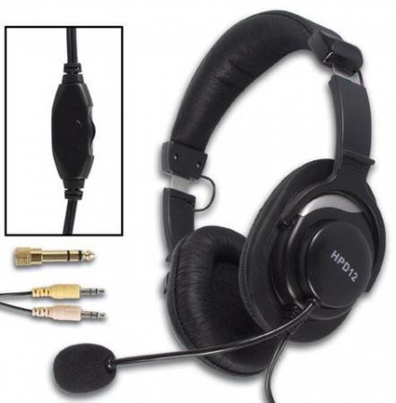 Image of Digitale Stereo Koptelefoon Met Microfoon - Luxe-uitvoering