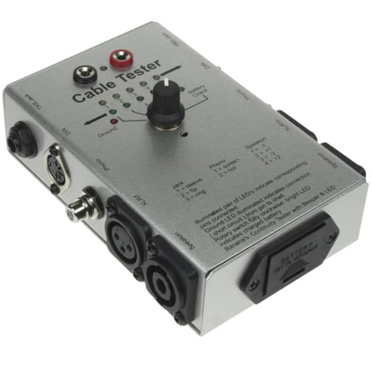 Audio Kabeltester - 6 soorten