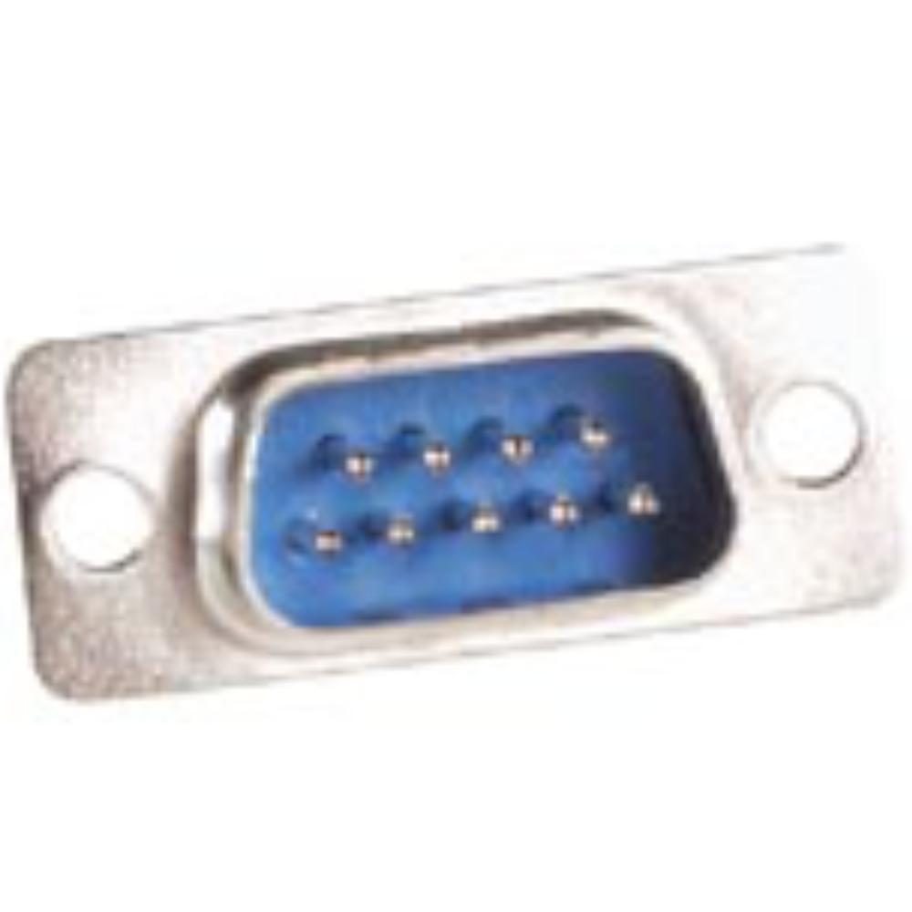 Image of Mannelijke 9p Sub-d Connector - Chassismontage - (25 st.)