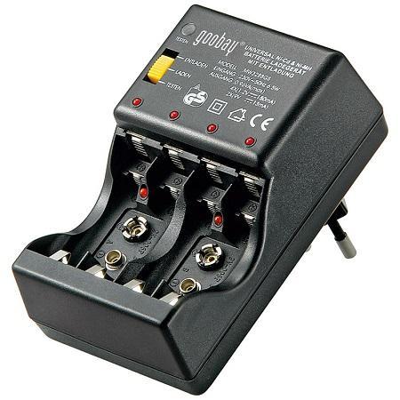 Image of AA batterij lader - Goobay
