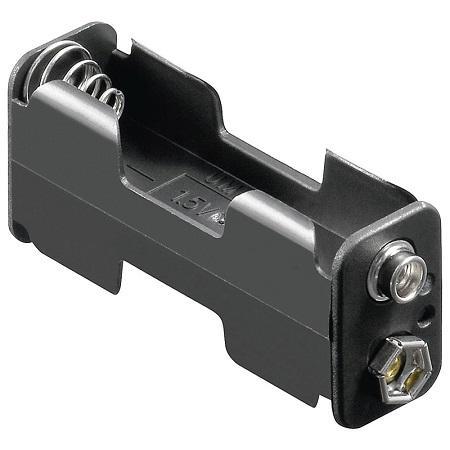 Image of 2x AA batterij houder - Goobay