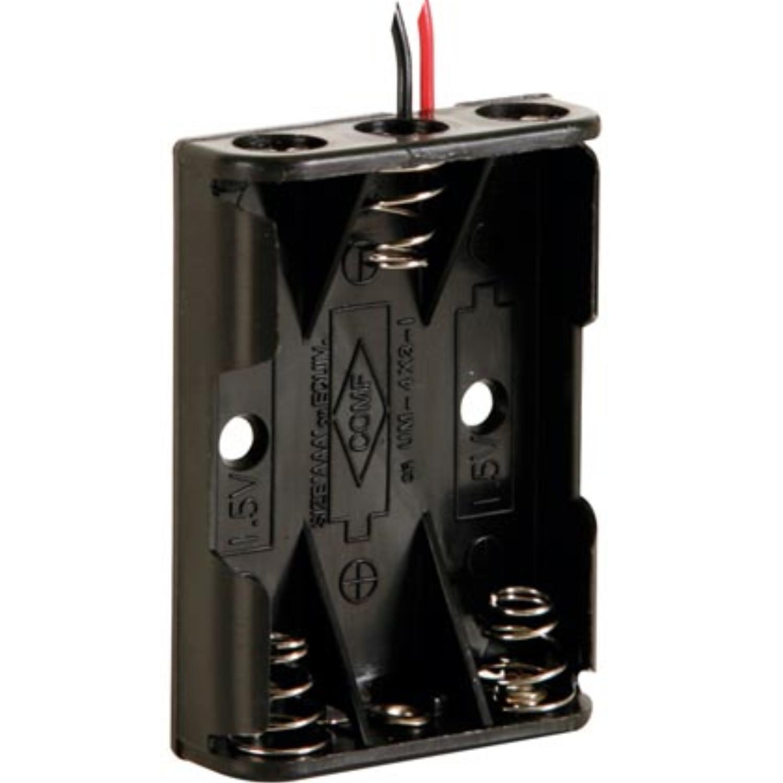 Image of 3x AAA batterij houder - Velleman