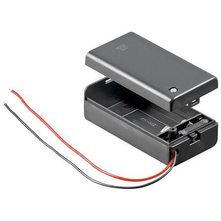 Image of Blok batterij houder - Goobay
