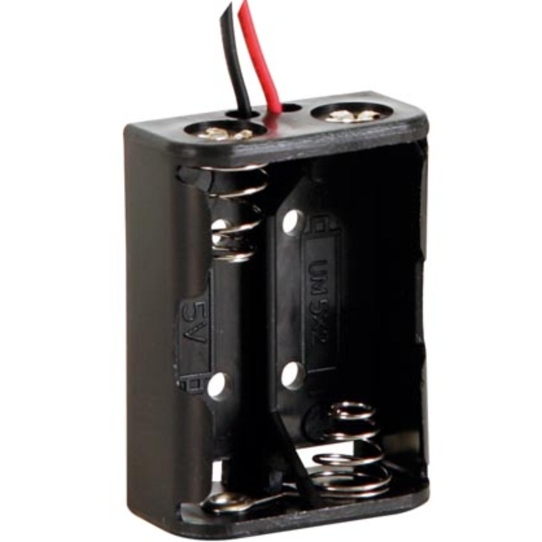 Image of 2x N batterij houder - Velleman