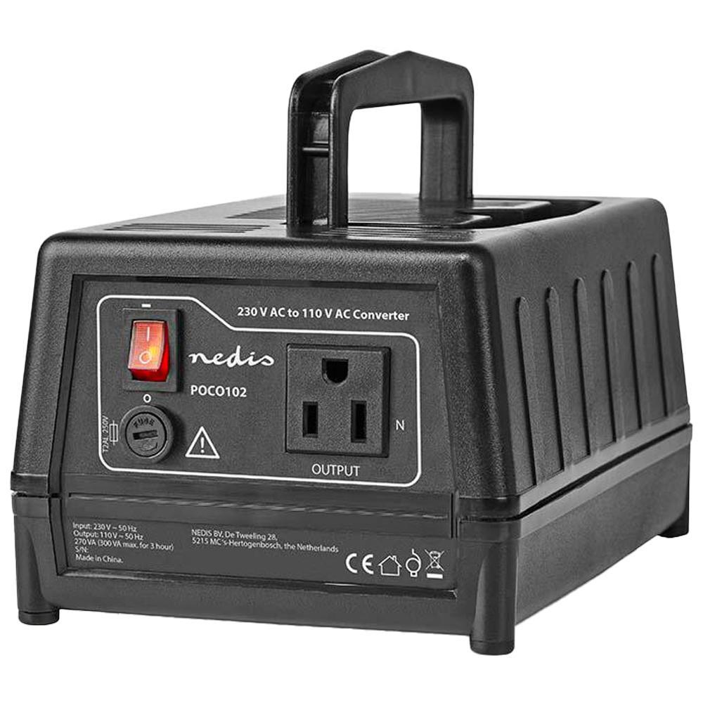 Omvormer 230V naar 110V - 300 Watt Maximaal vermogen: 300 Watt