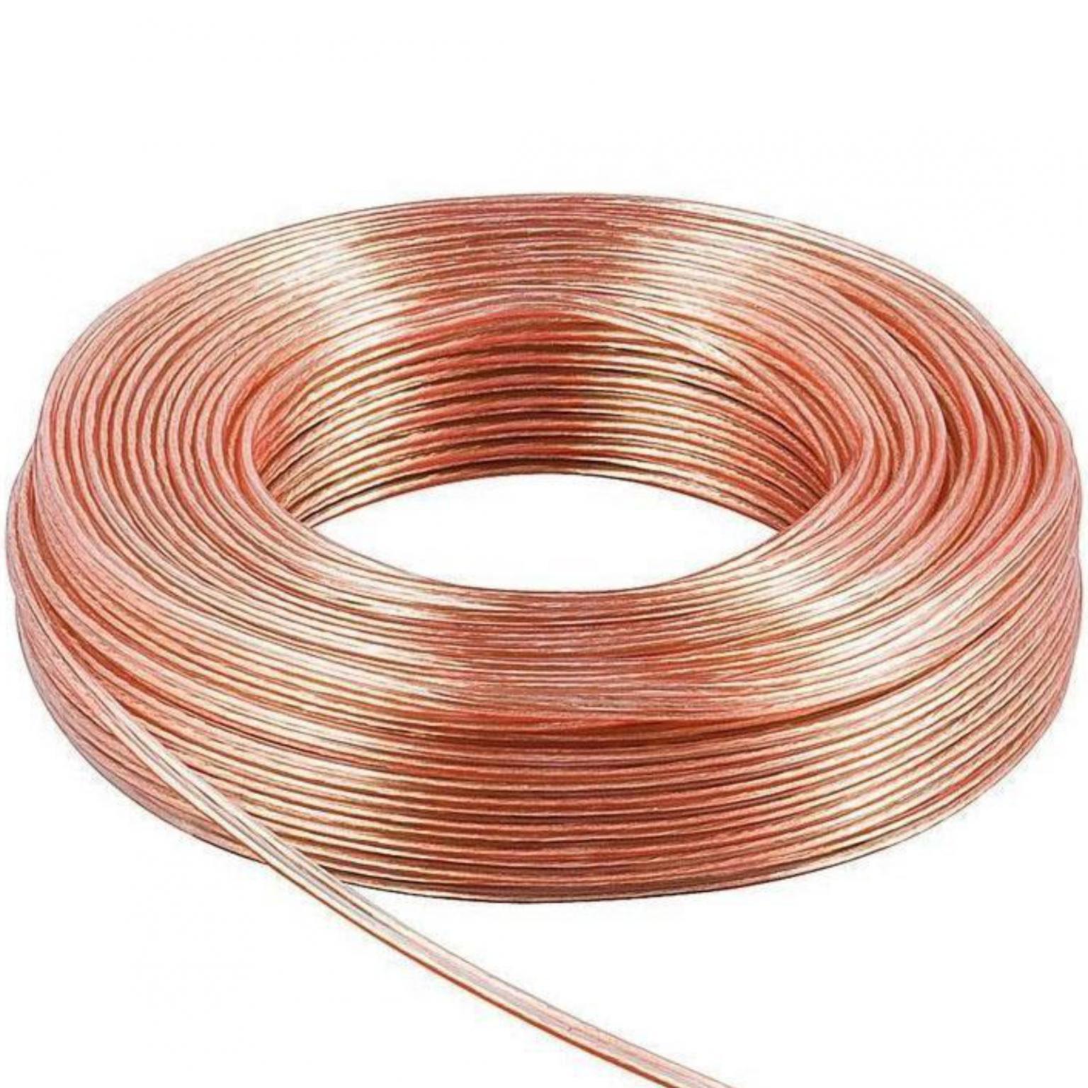 Luidspreker Kabel - 0.50mm Haspel 50 meter