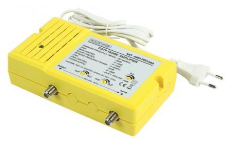 Antenne versterker - Actief retour - 1 uitgang Versterking: 30 dB