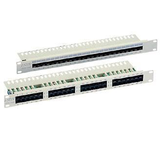 Image of 19 PatchPanel 25 Port Cat.3 grau ISDN - Delock