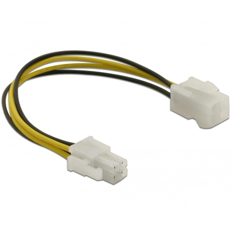 DeLOCK Power cable P4 male-female (82428)