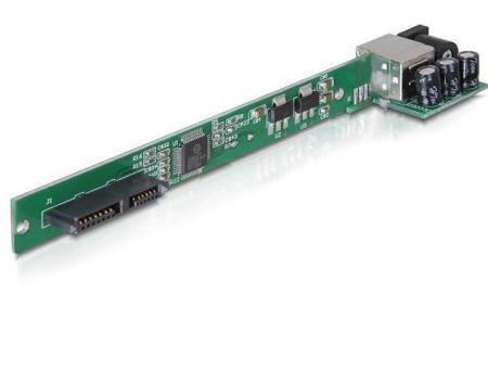 Slim SATA naar USB 2.0 converter Incl. voeding kabel