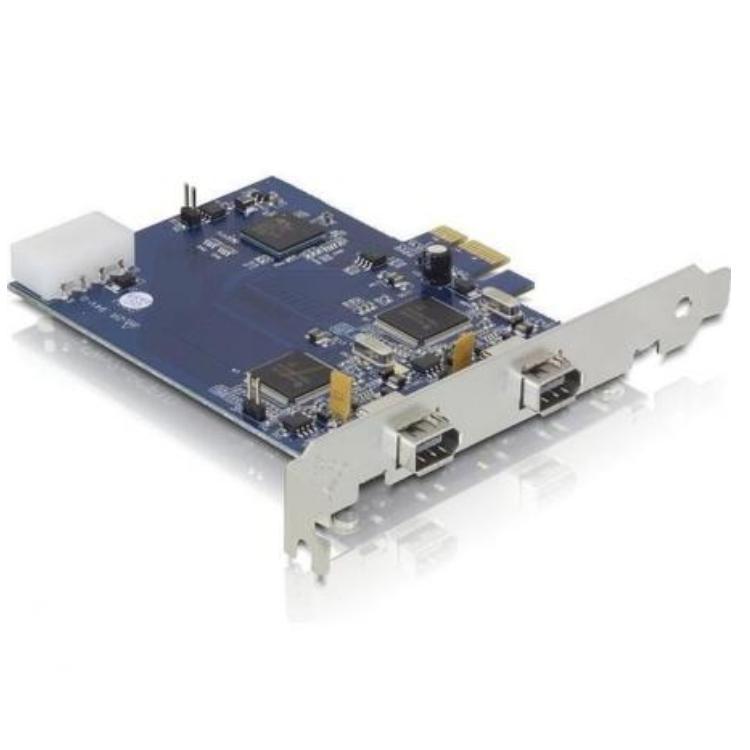 Image of Firewire PCI-E kaart - Delock